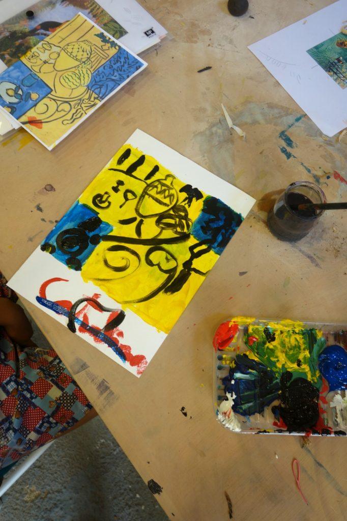 Taller de pintura y dibujo para niños